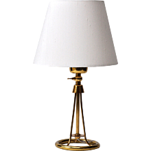 Pair of Alfred Muller bedside lamps
